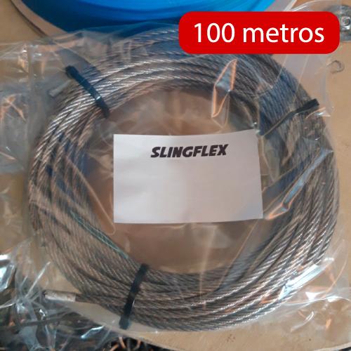 Cables de acero 100 metros
